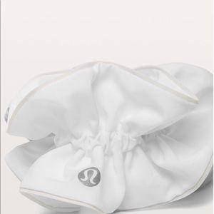 Lululemon Light Locks White Scrunchie